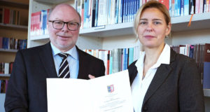 Professorentitel für Dr. Albert de Grave